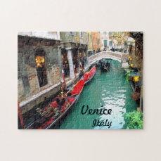 Gondolas- Venice, Italy Jigsaw Puzzle
