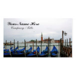 Gondolas with a View Business Card Templates