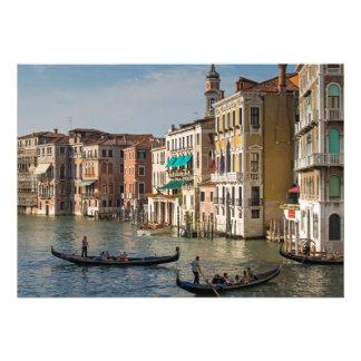 Góndolas y palacios Gran Canal Venecia Italia