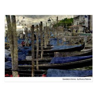 gondole in Venice Post Card
