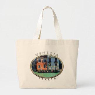 Gondolero veneciano bolsa tela grande