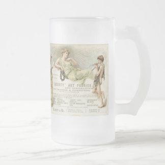 Gondoleros de la libertad taza de cristal