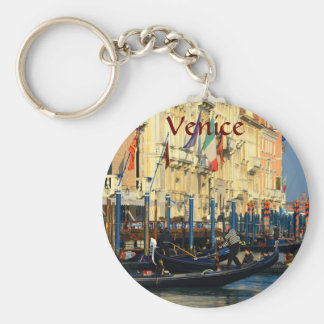 Gondoleros venecianos llavero redondo tipo pin