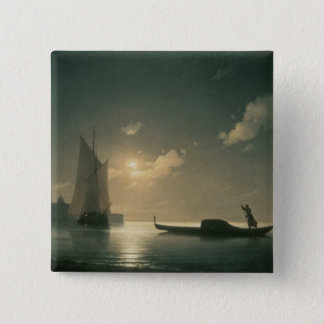 Gondolier at Sea by Night, 1843 Pinback Button