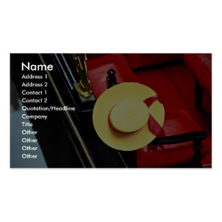 Gondolier hat, Venice, Italy Business Cards