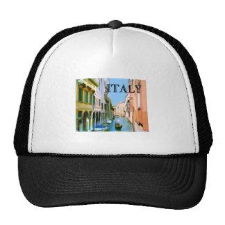 Gondolier in Canal in Venice ITALY Trucker Hat
