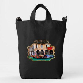 Gondolier in Cannaregio Duck Bag