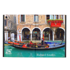Gondolier in Cannaregio iPad Air Covers