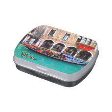 Gondolier in Cannaregio Jelly Belly Tin