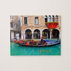 Gondolier in Cannaregio Jigsaw Puzzle