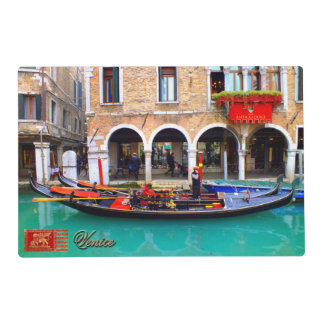 Gondolier in Cannaregio Placemat