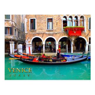 Gondolier in Cannaregio Postcard
