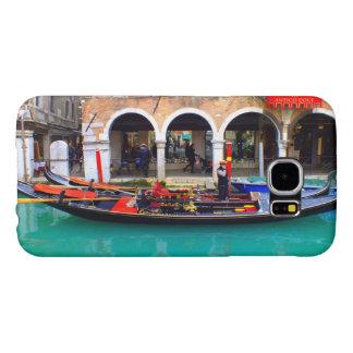 Gondolier in Cannaregio Samsung Galaxy S6 Cases