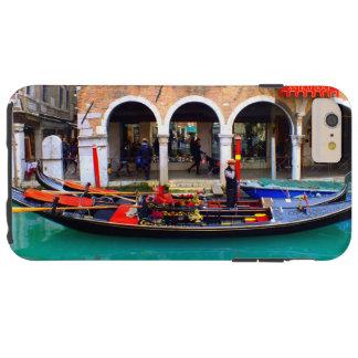Gondolier in Cannaregio Tough iPhone 6 Plus Case