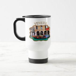 Gondolier in Cannaregio Travel Mug