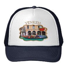 Gondolier in Cannaregio Trucker Hat