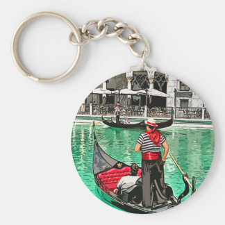 Gondolier Keychain