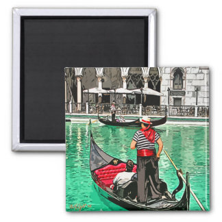 Gondolier Fridge Magnets
