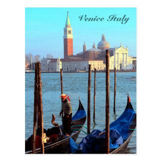 Gondolier Postcard