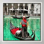 Gondolier Print