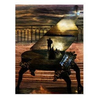 Gondolier`s sonata postcard