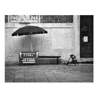Gondolier Stand Postcard