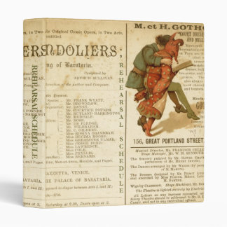 Gondoliers Cast Binder