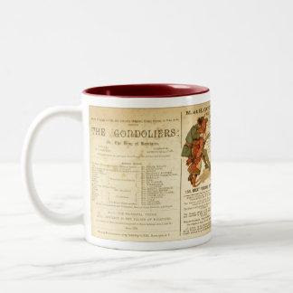 Gondoliers Cast Two-Tone Coffee Mug