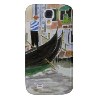 Gondoliers Italy Samsung Galaxy S4 Cover