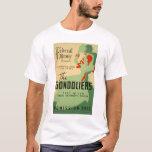 Gondoliers Opera 1937 WPA T-Shirt
