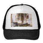 Gondoliers' Siesta by John Singer Sargent Mesh Hats