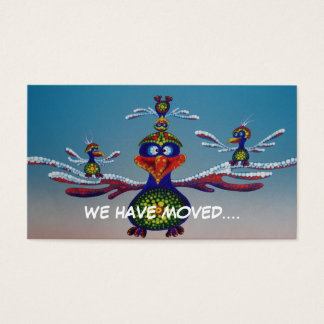 Gondwana Bros - we have moved card