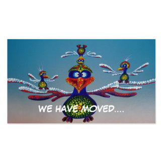 Gondwana Bros - we have moved card Business Card Templates