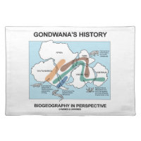 Gondwana's History Biogeography In Perspective Cloth Place Mat