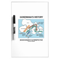 Gondwana's History Biogeography In Perspective Dry Erase Whiteboards