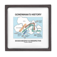 Gondwana's History Biogeography In Perspective Premium Keepsake Box