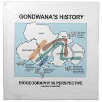 Gondwana's History Biogeography In Perspective Printed Napkin