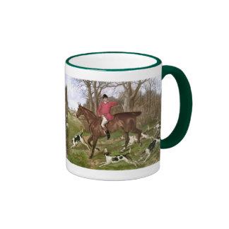 Gone Away Ringer Mug