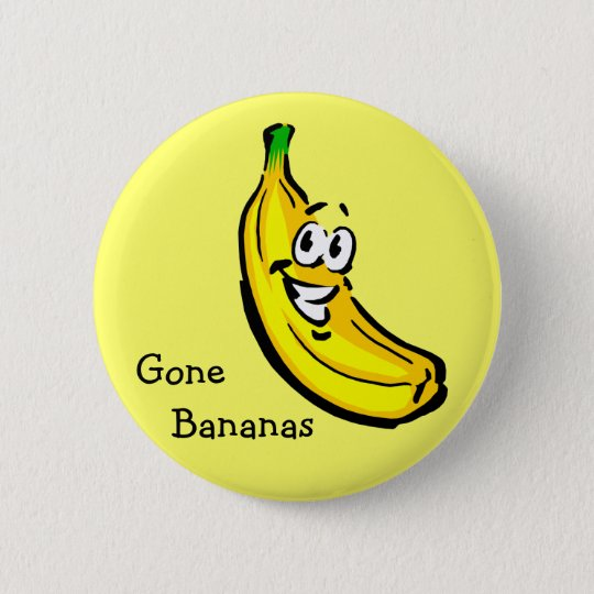 Gone Bananas Button