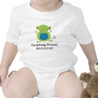 Gone Bananas Monkey shirt for baby boys