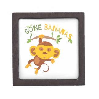 Gone Bananas Premium Trinket Boxes