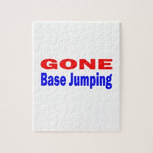 Gone base jumping. jigsaw puzzle