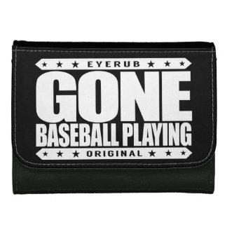 GONE BASEBALL PLAYING - I Always Get to Third Base Women's Wallet