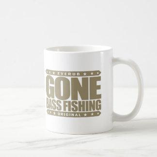 GONE BASS FISHING - I Love Nature & Catching Fish Coffee Mug