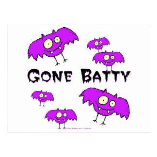 Gone Batty Postcard