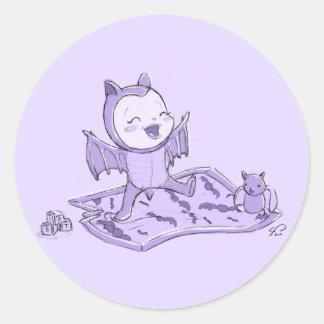 Gone Batty Stickers