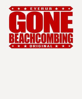 GONE BEACHCOMBING - I Love Beach Treasure Hunting Dresses