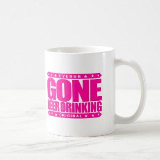 GONE BEER DRINKING - I Work Hard for My Six-Pack Coffee Mug