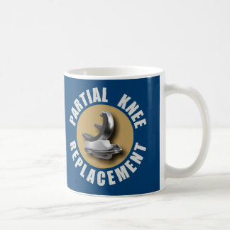 """""""GONE BIONIC Partial Knee Replacement"""" Mug"""