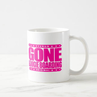GONE BOOGIE BOARDING - I Love Ocean & Bodyboarding Coffee Mug